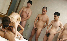 Horny Guys are Waiting for their Turn